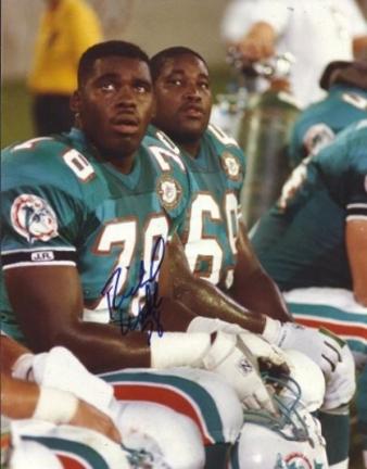 "Richmond Webb Autographed Miami Dolphins 8"""" x 10"""" Photograph (Unframed)"" RDM-RICHMONDWEBB8X10"