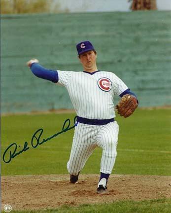 """Rick Reuschel Autographed Chicago Cubs 8"""" x 10"""" Photograph (Unframed)"""