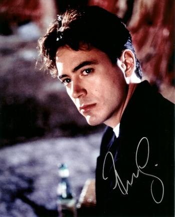 """Robert Downey Jr. Autographed 8"""" x 10"""" Photograph (Unframed)"""