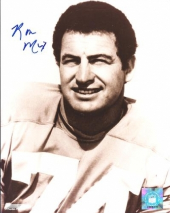 "Ron Mix Autographed San Diego Chargers 8"""" x 10"""" Photograph Hall of Famer (Unframed)"" RDM-RONMIX8X10"