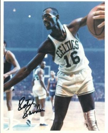 "Satch Sanders Autographed Boston Celtics 8"" x 10"" Photograph 8x Champion (Unframed)"