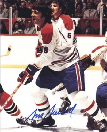 """Serge Savard Autographed Montreal Canadians 8"""" x 10"""" Photograph Hall of Famer (Unframed)"""