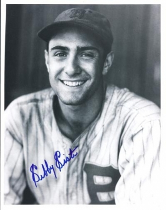 """Sibby Sisti Autographed Boston Braves 8"""" x 10"""" Photograph (Deceased) (Unframed)"""