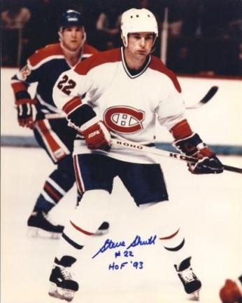 "Steve Shutt Autographed Montreal Canadians 8"" x 10"" Photograph Hall of Famer (Unframed)"
