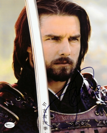 "Tom Cruise Autographed ""The Last Samurai"" 8"" x 10"" Photograph (Unframed)"