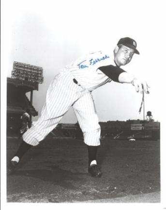 "Tom Ferrick Autographed New York Yankees 8"" x 10"" Photograph (Unframed)"