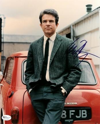 """Warren Beatty Autographed 8"""" x 10"""" Photograph (Unframed)"""