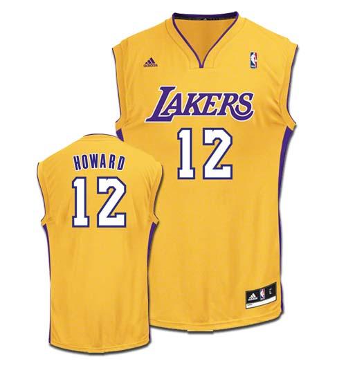 online retailer bb939 e507c Los Angeles Lakers Dwight Howard Memorabilia