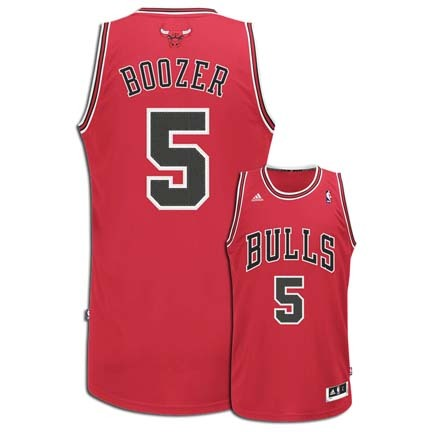 ... Carlos Boozer Chicago Bulls 5 Revolution 30 Swingman Adidas NBA  Basketball Jersey (Road Red ... 811ff9465