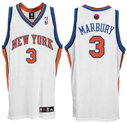 new york knicks uniform history. Stephon Marbury New York