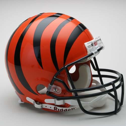 Cincinnati Bengals NFL Riddell Authentic Pro Line Full Size Football Helmet