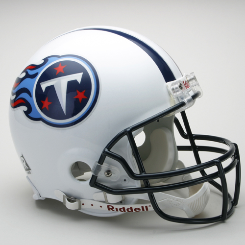 Tennessee Titans NFL Riddell Authentic Pro Line Full Size Football Helmet