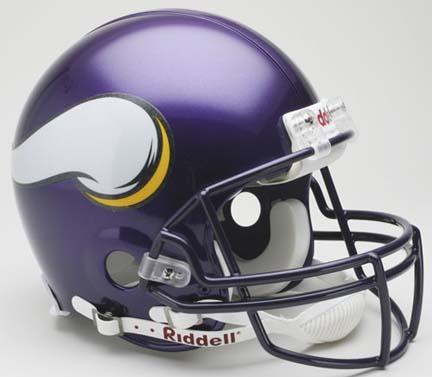 Minnesota | Authentic | Football | Riddell | Viking | Helmet | Full | Size | NFL