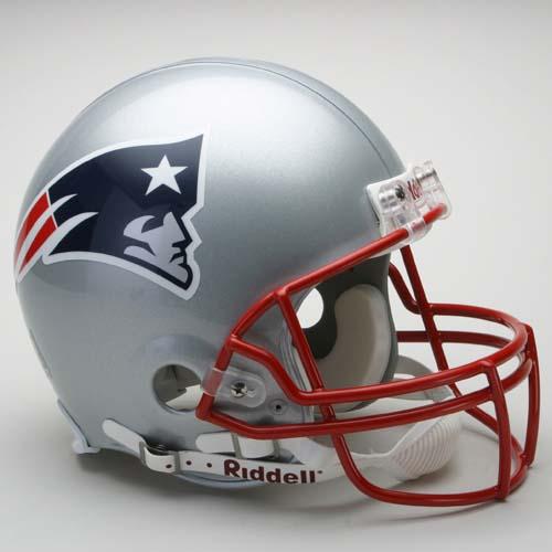 New England Patriots NFL Riddell Authentic Pro Line Full Size Football Helmet