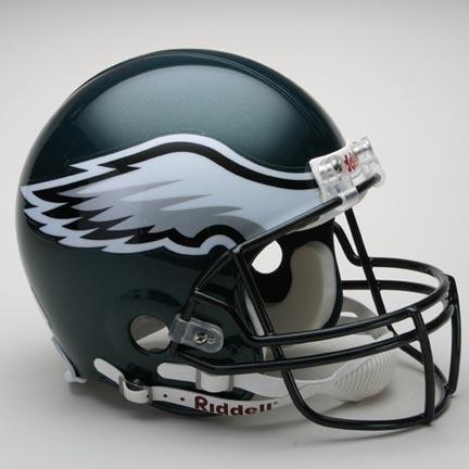 Philadelphia Eagles NFL Riddell Authentic Pro Line Full Size Football Helmet