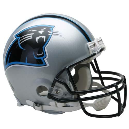 Carolina | Football | Replica | Riddell | Panther | Deluxe | Helmet | Full | Size | NFL