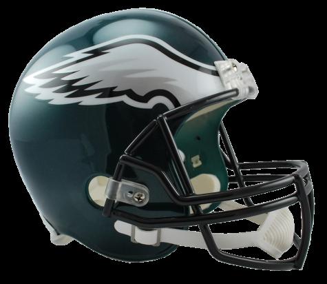 Philadelphia Eagles NFL Riddell Full Size Deluxe Replica Football Helmet