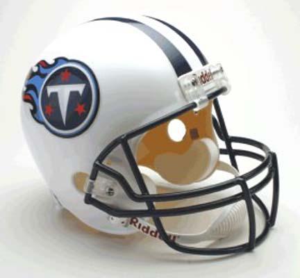 Tennessee Titans NFL Riddell Full Size Deluxe Replica Football Helmet