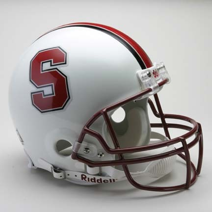 Stanford Cardinal NCAA Pro Line Authentic Full Size Football Helmet From Riddell