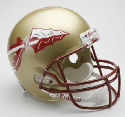 Florida State Seminoles NCAA Riddell Full Size Deluxe Replica Football Helmet