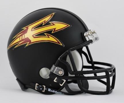 Arizona State Sun Devils NCAA Riddell Replica Mini Football Helmet (Black) RID-41401-121