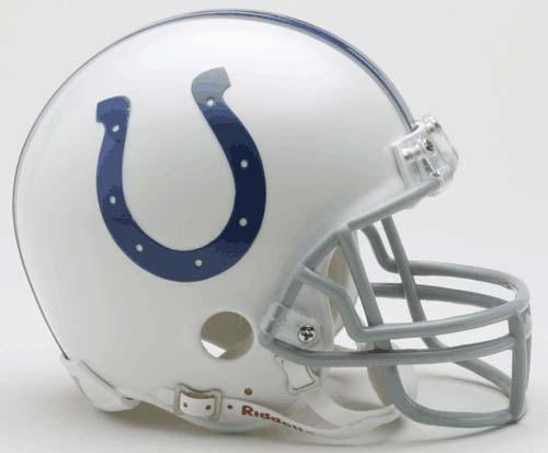 Indianapolis Colts NFL Riddell Replica Mini Football Helmet RID-41401-2