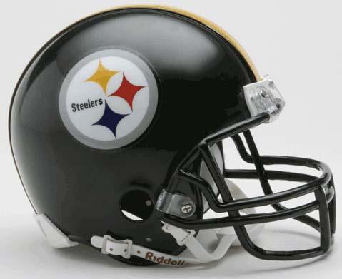 Pittsburgh Steelers NFL Riddell Replica Mini Football Helmet