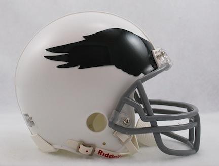 Philadelphia Eagles NFL Riddell Replica Mini Throwback Football Helmet (1969 - 1973)