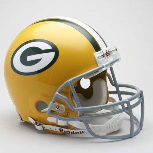 "Green Bay Packers (1961 - 1979) Riddell Full Size ""Old Style Throwback"" Authentic Football Helmet"