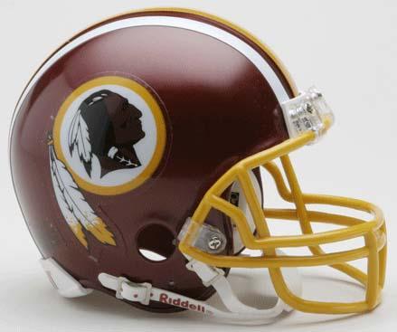 Washington Redskins NFL Riddell Replica Mini Football Helmet
