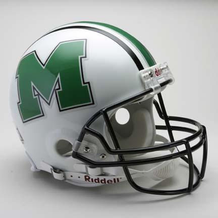 Marshall Thundering Herd NCAA Pro Line Authentic Full Size Football Helmet From Riddell