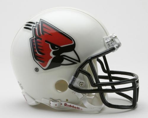 Ball State Cardinals NCAA Riddell Replica Mini Football Helmet