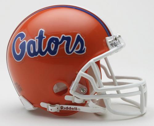 Florida Gators NCAA Riddell Replica Mini Football Helmet