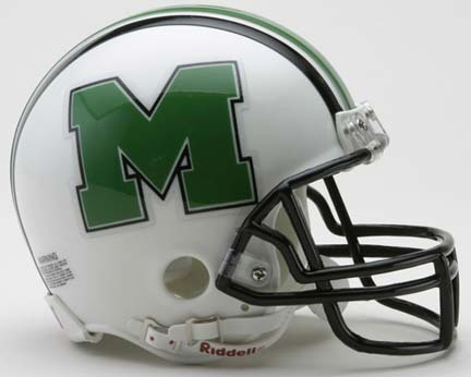 Marshall Thundering Herd NCAA Riddell Replica Mini Football Helmet RID-41401-310