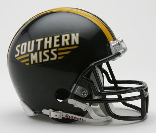 Southern Mississippi Golden Eagles NCAA Riddell Replica Mini Football Helmet