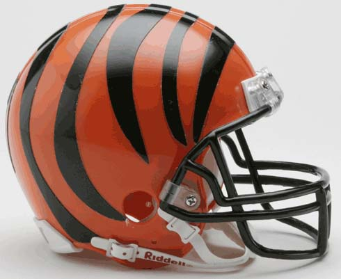 Cincinnati Bengals NFL Riddell Replica Mini Football Helmet