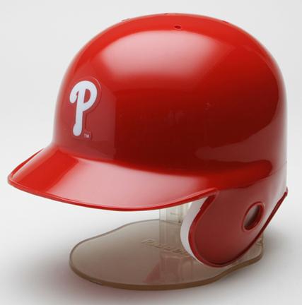 Philadelphia Phillies MLB Replica Left Flap Mini Batting Helmet From Riddell
