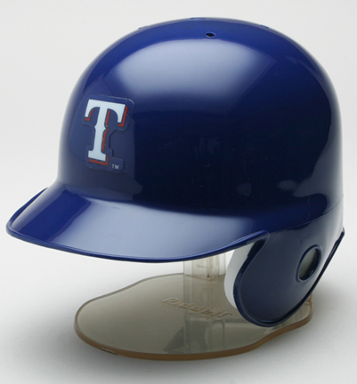 Texas Rangers MLB Replica Left Flap Mini Batting Helmet