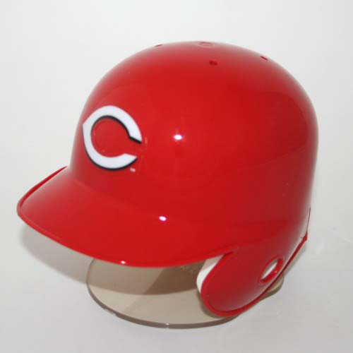 Cincinnati Reds MLB Replica Throwback Left Flap Mini Batting Helmet From Riddell