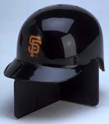 San Francisco Giants MLB Replica Left Flap Mini Batting Helmet From Riddell