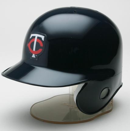 Minnesota Twins MLB Replica Throwback Right Flap Mini Batting Helmet From Riddell