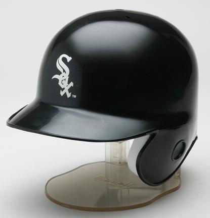 Chicago White Sox MLB Replica Left Flap Mini Batting Helmet From Riddell