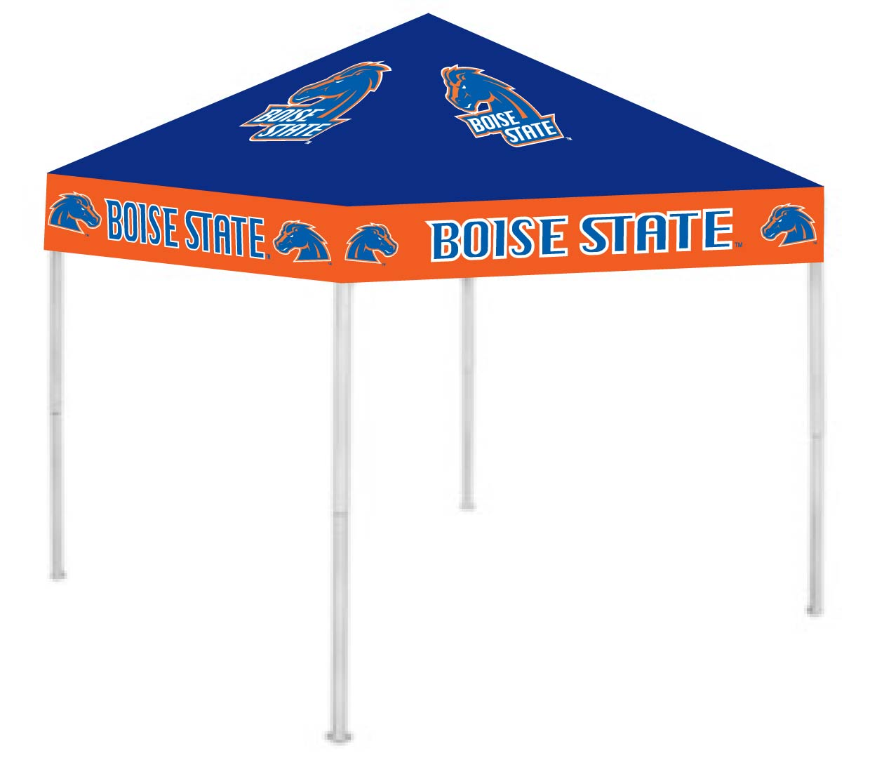 Boise State Broncos 9′ x 9′ Ultimate Tailgate Shade Canopy / Tent