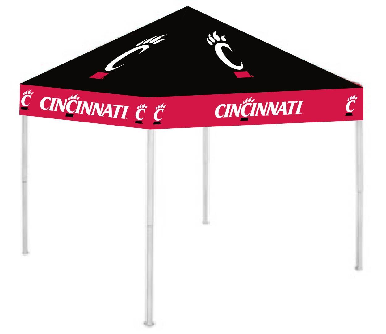 Cincinnati Bearcats 9u0027 x 9u0027 Ultimate Tailgate Shade Canopy / Tent (RIV-  sc 1 st  Best Deals Rebates and Coupons & Canopy Tent - USA