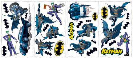 Batman Gotham Guardian Peel and Stick Applique / Wall Decal Set