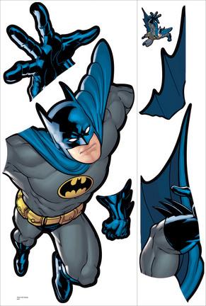 Batman Gotham Guardian Peel and Stick Giant Wall Applique / Decal Set