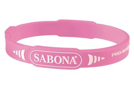 Pink Pro Magnetic Sport Wristband (Western Package) from Sabona