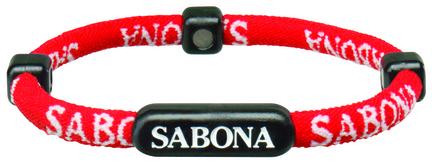 Sabona Athletic Bracelet - Red