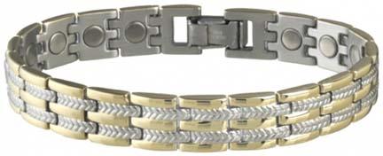 Executive Regal Duet Magnetic Bracelet from Sabona