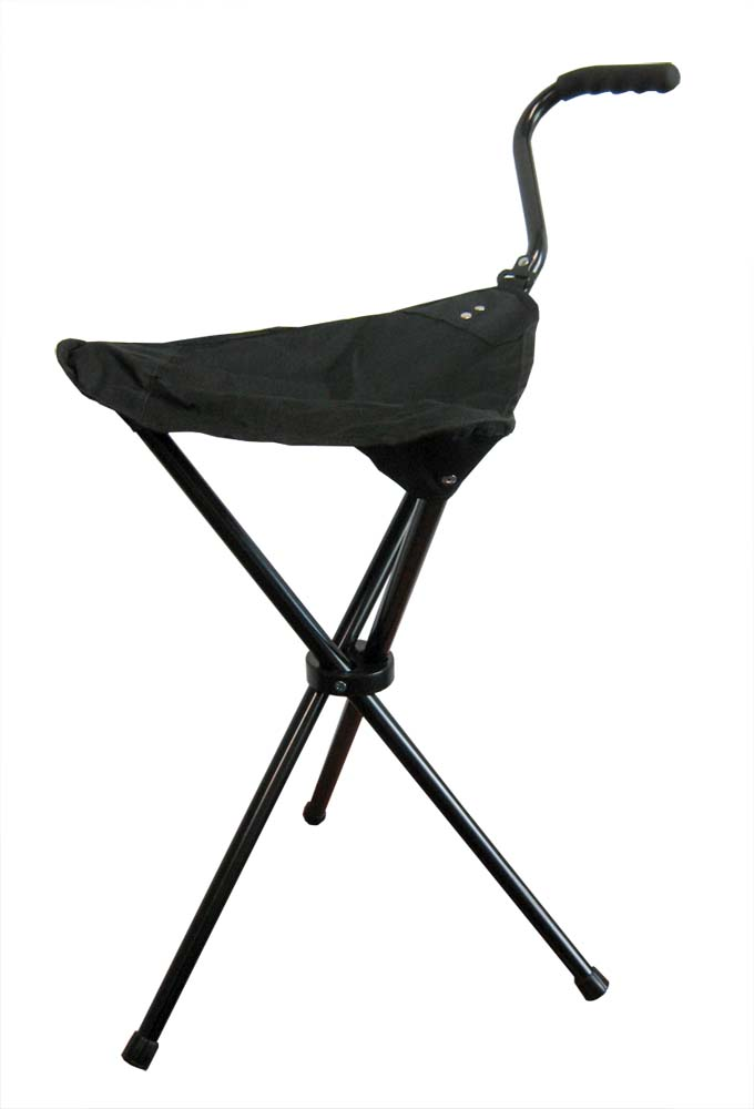 Astonishing Details About Portable Walking Chair Cane Stool From The Stadium Chair Company Pabps2019 Chair Design Images Pabps2019Com
